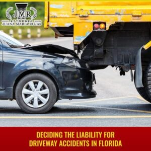Deciding The Liability For Driveway Accidents In Florida