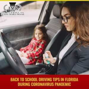 Back to School Driving Tips in Florida during Coronavirus Pandemic