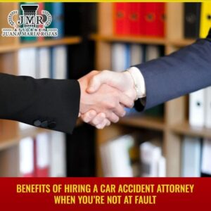 Benefits Of Hiring A Car Accident Attorney When You're Not At Fault