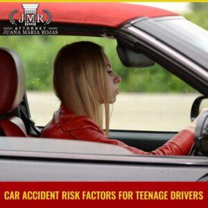 Car Accident Risk Factors For Teenage Drivers