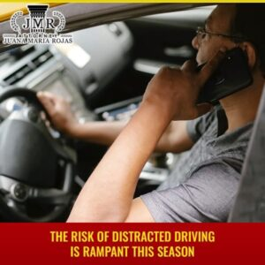 The Risk Of Distracted Driving Is Rampant This Season